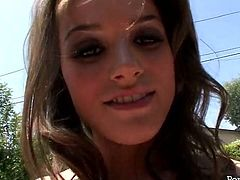 Tori Black is an incredibly beautiful and dirty tipe of a girl. This gorgeous gal knows a lot about pleasing men. She sucks her boyfriend's dick in 69 position like a super qualified slut.