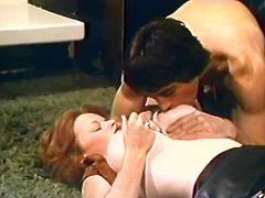 Hot like fire light haired strumpets with gorgeous ballrooms stood on knees and desperately fought for that tasty cream stick. Look at this amazing threesome in The Classic Porn sex clip!