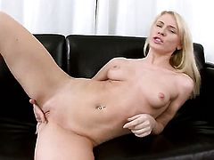 Catia fucks herself with dildo on cam for your viewing entertainment