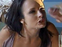 Sexy Alektra Blue gets nailed hard by a muscled guy