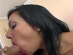 She is a hottie and what she goes for today is a huge cock! Lela Star is her name and she is going to have so much fun!