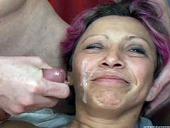 Some cheap slut takes on multiple cocks from a bunch of fuckers and gets her holes stuffed big motherfuckin' time. Hit play and enjoy the gangbang!