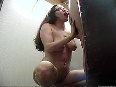 Make sure you watch this hot scene where the horny Tina Tink ends up with her mouth filled by cum after sucking and biting this guy's cock.