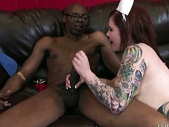 Misti Dawn loses control in sexual frenzy with hot dude Sean Michaels