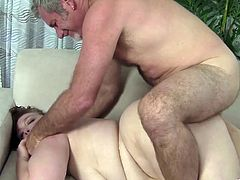 Have fun with this hardcore scene where the BBW gal by the name of Cherie is fucked by a horny guy with a big cock.