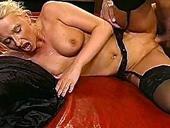 Check out dirty blonde in group action