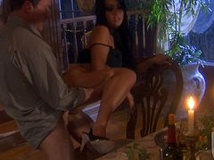 And this is so sensual for Gianna Lynn, a charming Asian sex doll! She gives a damn amazing blowjob and gets poked in doggy style.