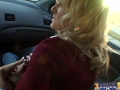 Horny and filthy slut attracts the guy i the car and he meets her and takes into the car with him. They get home and the young boy starts to touch her clit. Watch in steamy My XXX Pass sex video.