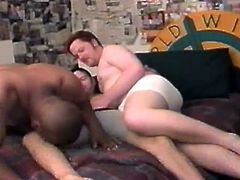 They're all grown up and want to try different things. These guys are sick and tired of pussy so they've gathered around for a nice hot gay threesome. Yeah, look at them how horny they are, trying to take the best out of gay love. Black and white, these men will suck and fuck until they will be drenched out of semen