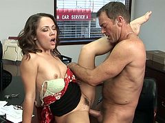 Randy Spears fucks with secretary Kristina Rose