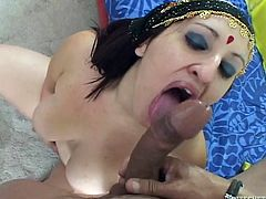 Make sure you take a look at this Indian babe's amazing body in this hot POV where she's fucked by a big cock until she's filled by semen.