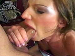 this horny whore loves nothing more than chocking on a nice hard cock!