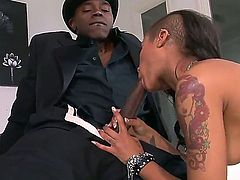 Do you want to spend amazing time with Sean Michaels and Skin Diamond Then check up this scene and everything what they are doing in it. You would become excited.