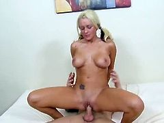 Checkout this sexy juicy blonde babe named as Brandy Blair in this hot video.This sexy bubble butt babe with nice big tits, spreads her legs and gets that tight cunt fucked hard and deep.