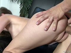 Check out this hardcore scene where the horny Victoria Lawson ends up with a creampie after being fucked by a big cock.