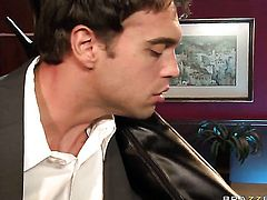 Delicious woman Jazy Berlin loves getting her muff pie humped by Rocco Reed