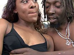 Make sure you have a look at this hardcore scene where the horny Ms. Platinum takes a pounding from a black monster cock.