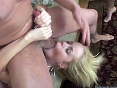 Robert Rosenberg, Manuel Ferrara and Toni Ribas are having fun with lewd blonde Alicia Rhodes. The guys fuck all Alicia's holes brutally and then favour her with anal DP.