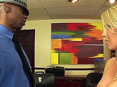 Interracial scene with a sexy milf Ashley Winters, Bob E and Sean Michaels