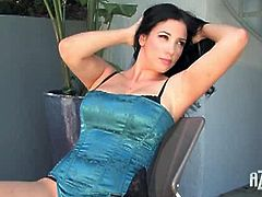 It may surprise you to learn that even popular girls like Jelena Jensen have their little sexual fantasies that have yet to be fulfilled. Ms Jensen talks about her recent obsession with the pool boy today. Jelena's a tad shy at first because sharing her deepest fantasies isn't something she's used to - yet. But with help from the California sun and her self-exploring hands Jelena quickly warms up...