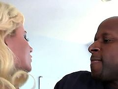 Enjoy fine blonde slut Casey Cumz playing with her butt and Prince Yahshua ready to fuck her
