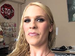 Just because Hydii May is pregnant doesn't mean she can't still fuck black guys on camera. Here she shows off her big belly backstage.