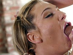 Watch Bailey Blue working her her tongue and lips on this guy's thick cock in this great POV as she gives him an amazing blowjob.