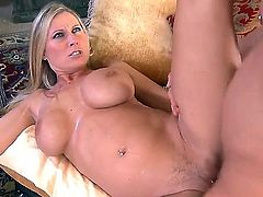 Awesome pornstars Danny Wylde and mind-blowing  Devon Lee having wild sex