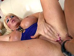 She's experienced and had a lot of cock in her pussy. Alexis knows how to fuck and takes great pleasure doing so but if there's something that make her squirt, it's anal sex. A big hard cock going in and out of her tight anus drives Alexis insanely horny and it will be only a matter of time until she will do it.