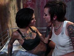 Check out this heart stopping lesbian scene where these gorgeous ladies make your dick hard as they have an amazing time please each other in a lesbian scene.
