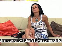 Shalina is a stunning girl with great legs and body and nice natural tits with big, perky nipples that stand to attention like soldiers. This is her first apperance on camera.