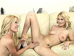 Antonya and Sophie Moone are very naughty and today lesbo girls are going to prove us this fact. Watch them playing with vibrator before fisting wet sweet pussies.