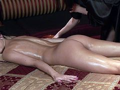 Superb girls got a bit horny when feeling one another's wet pussy