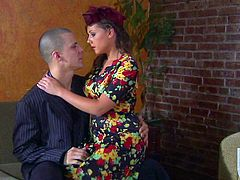 MILF in Nylons Gets Her Brains Banged Out