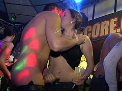 Make sure you have a look at this hot scene where these ladies have great time partying and fucking ass well.