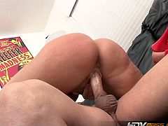 Flower tucci ass drilled after giving head