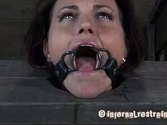 Katharine Cane's extreme BDSM affairs with Josi. This kinky slave took a little more work to get going but it all paid off. She gritted her teeth against the pain and had incredible orgasms.