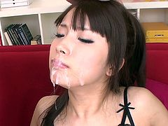 If you are a fan of sex appeal Japanese whores than this exciting Jav HD sex video sex video is everything your lust desires. Naughty gal gives her head and jerks off two small dicks.