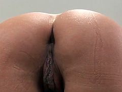 Its the first time she feels black snake sliding her tight ass hole