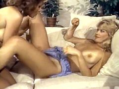 Horny bitches one of them with dark hair and the other one with blond hair lick the pussy. Watch in steamy The Classic Porn xxx clip.