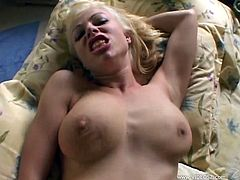 Take a look at Adrianna Nicole's amazing ass and great tits in this hardcore POV where she sucks and fucks a big cock.