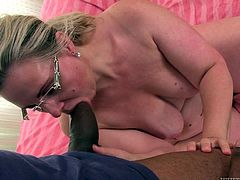 Granny Nicol has a pretty face and a big ass that just begs for a pounding. The blonde whore loves younger males, especially blacks and Franco is exactly what she was looking for. He softly touches her and then she goes down and dirty, putting his massive cock in her mouth before bending over to take it in the ass