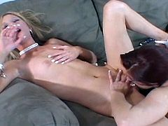Check out this hot video of this threesome action with beautiful horny women.