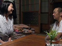 All night passion with a busty Japanese milf