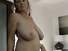 Granny Isabel Hot Sexy 64yr old Busty  Shows Porn Videos -1