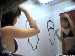 Swimsuit Model Changing Room