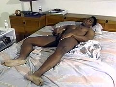 All cleaned up and horny, this hardcore stud jerks himself to completion in this free tube movie! This lonely hunk takes a nice hot shower  which turns himself on and plays with himself on the bed