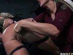 Cameron Dee and her sexy friend Nina Elle are fast and furious in this car. Watch them getting naked at the parking lot to experience some really amazing orgasms.