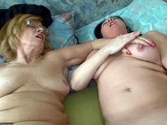 Check out these chubby and horny grannies spreading legs wide for all of the perverted bastards out there. Watch them using their favorite toys till deep orgasms.