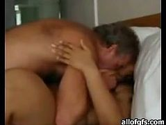 Attractive young bitch with fat body and huge ass spreads her leg for deep penetrations in missionary style. Have a look at this babe in The Indian Porn sex video.